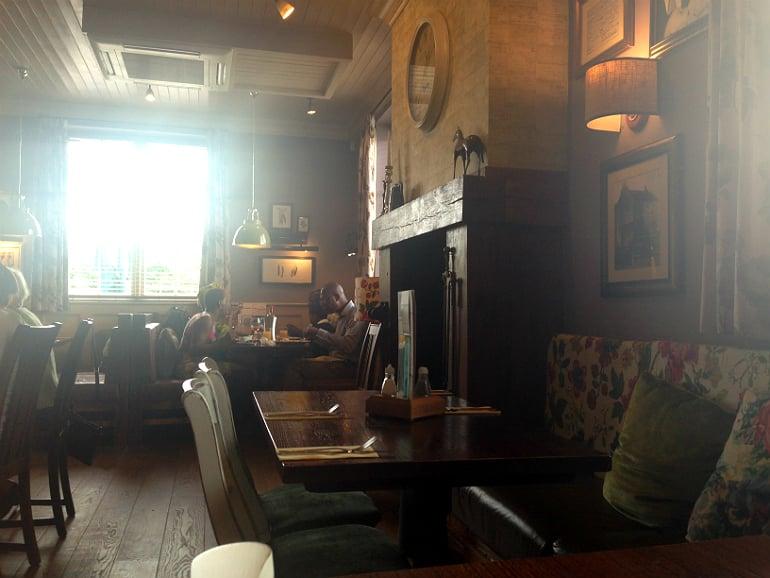 Prince george pub tattenhoe milton keynes review decore fireplace