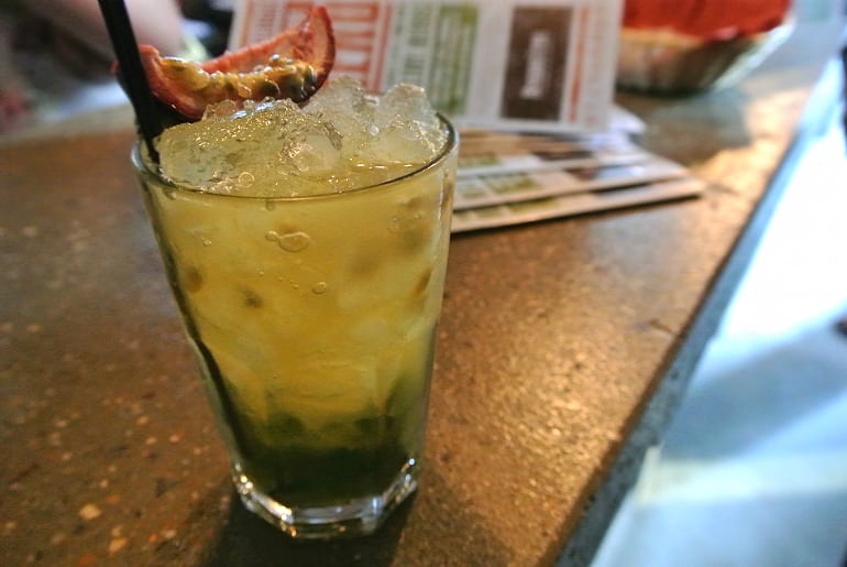 Banana Tree Milton Keynes review passion fruit cooler