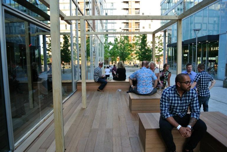 Banana Tree Milton Keynes review terrace