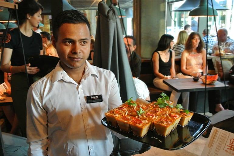 Banana Tree Milton Keynes review waiter