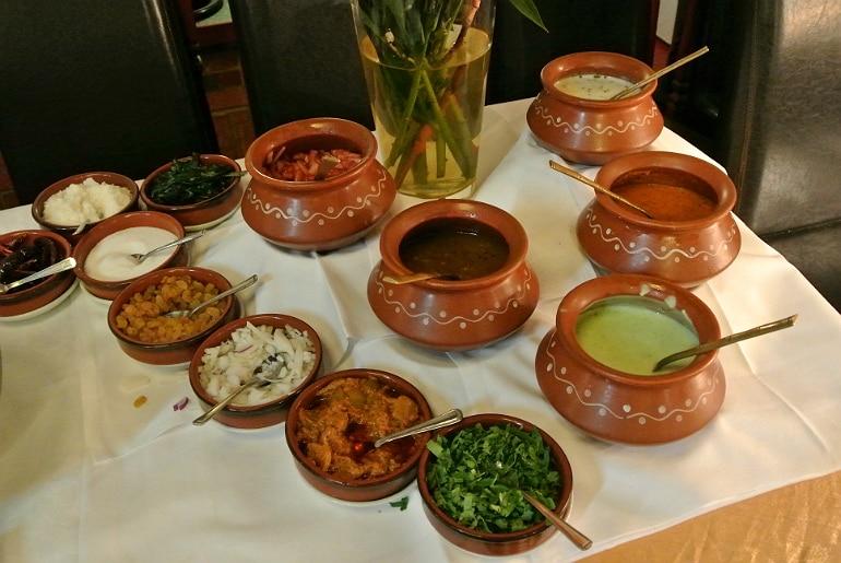 Calcutta Brasserie Stony Stratford Milton Keynes restaurant review Sunday buffet sauces