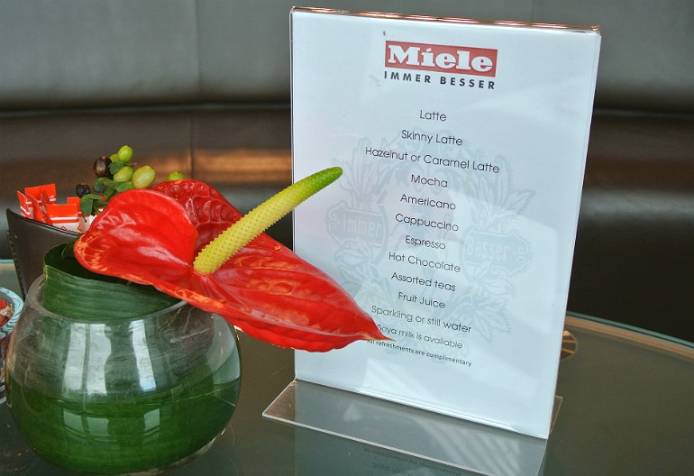 Miele Experience centre Abingdon coffee bar
