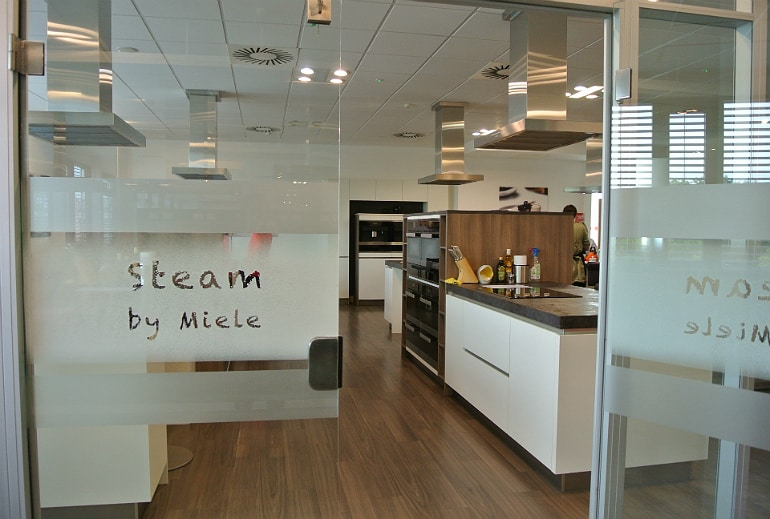 Miele Experience centre Abingdon dim sum sushi class steam oven