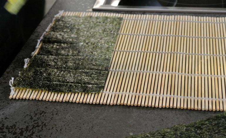 Miele Experience centre Abingdon steam oven dim sum sushi class nori sheet