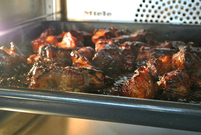 Miele Experience centre Abingdon steam oven dim sum sushi class pork belly