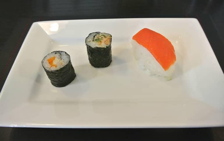 Miele Experience centre Abingdon steam oven dim sum sushi class tuna rolls