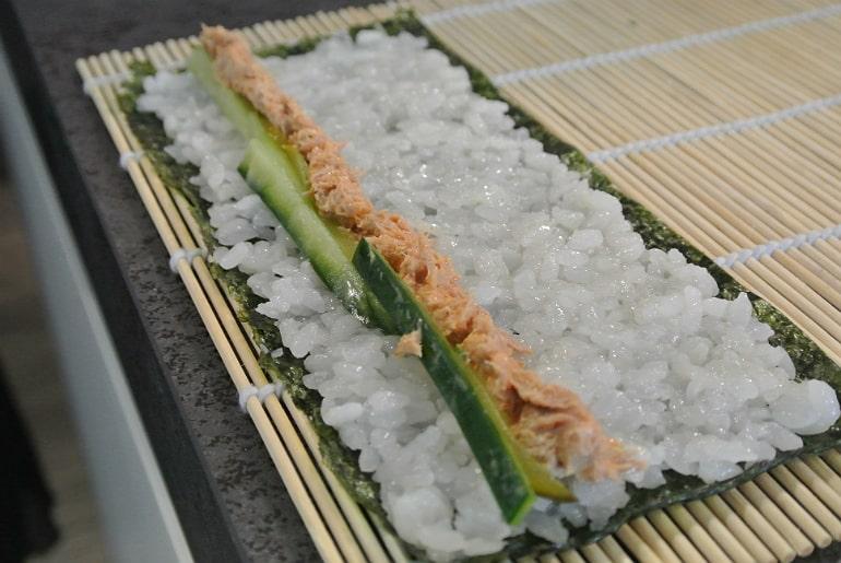Miele Experience centre Abingdon steam oven dim sum sushi class tuna
