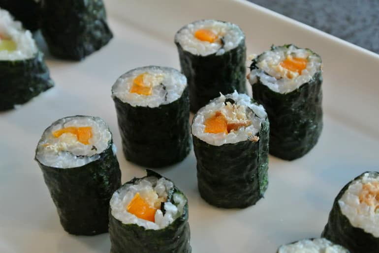 Miele Experience centre Abingdon steam oven dim sum sushi fish portions