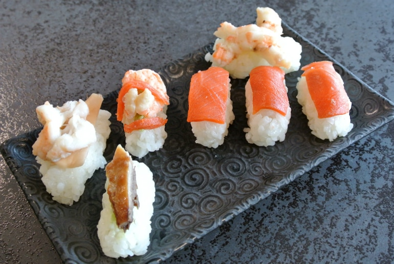 Miele Experience centre Abingdon steam oven dim sum sushi fish