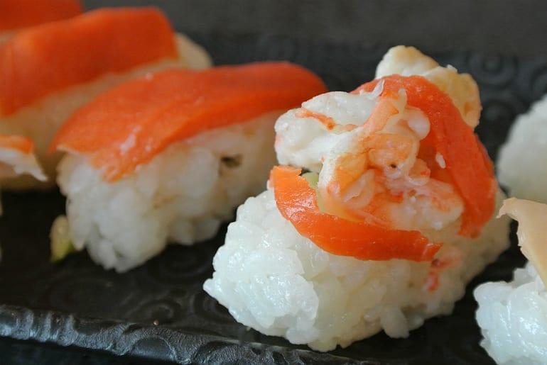 Miele Experience centre Abingdon steam oven dim sum sushi prawn salmon