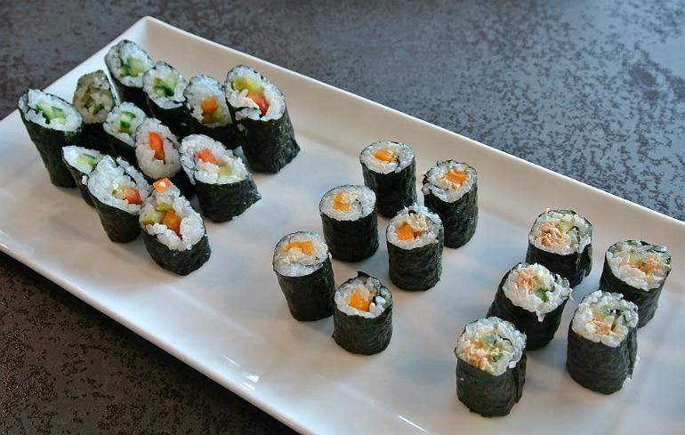 Miele Experience centre Abingdon steam oven dim sum veg fish sushi
