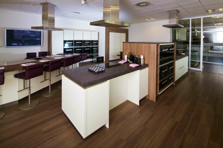 Miele Experience centre Abingdon steam room