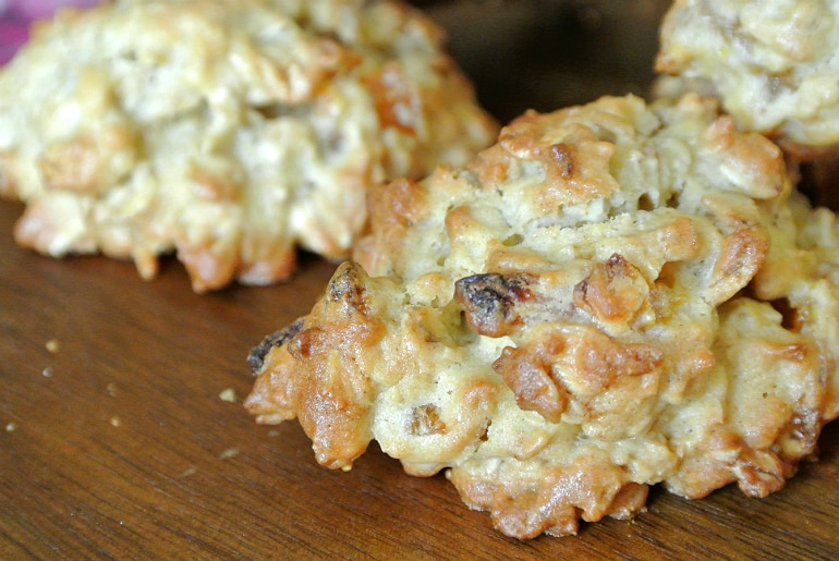Apricot ginger oatmeal cookie recipe rustic baking