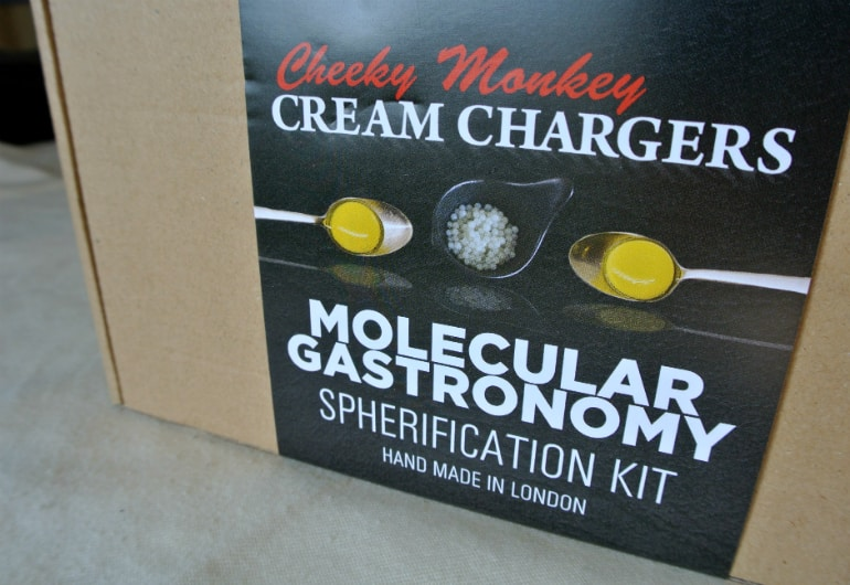 Mollecular Gastronomy kit review home fine dining