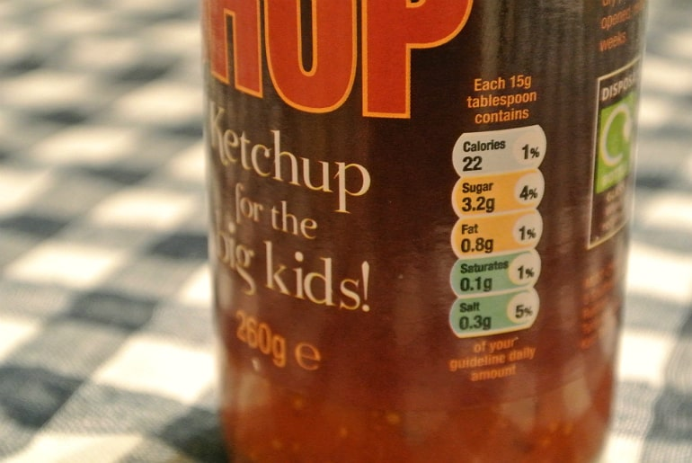Salters Mustchup review condiment nutriton information