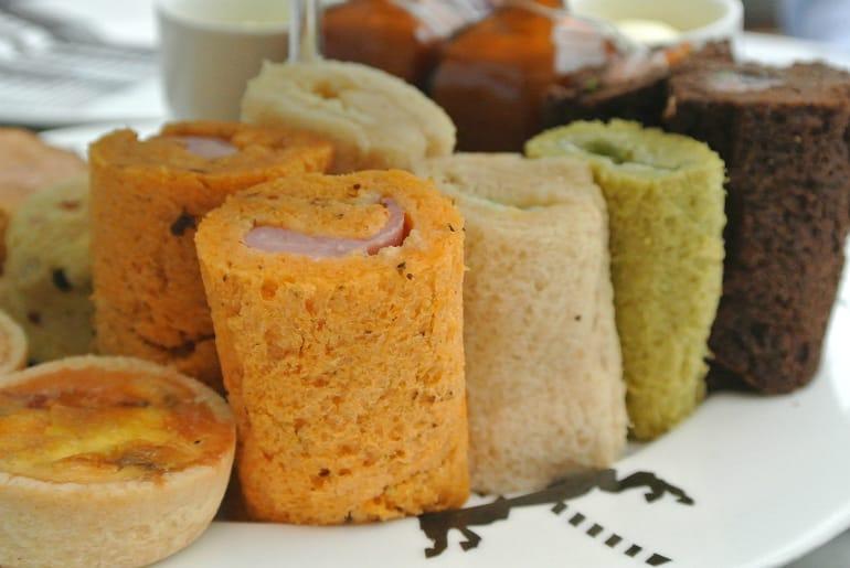 Sanderson London mad hatters tea party review sandwiches