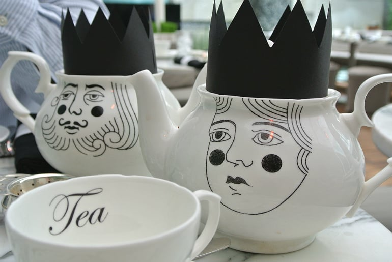 Sanderson London mad hatters tea party review teapot