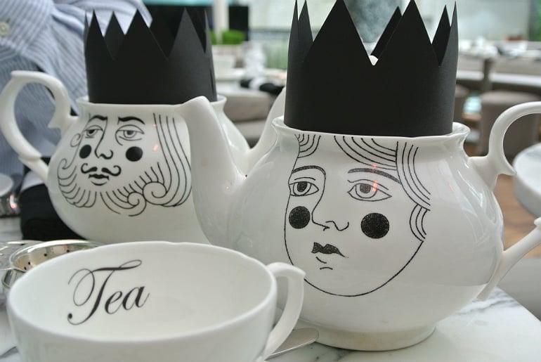 Sanderson London mad hatters tea party review teapot