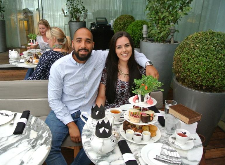 Sanderson London mad hatters tea party review yum dim sum