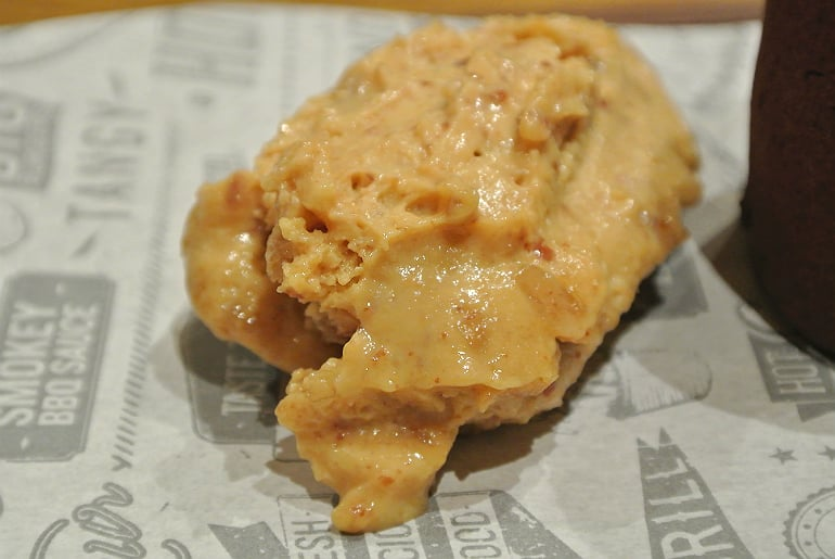 Smoke Shack BBQ restaurant Stony Stratford review peanut butter ice cream