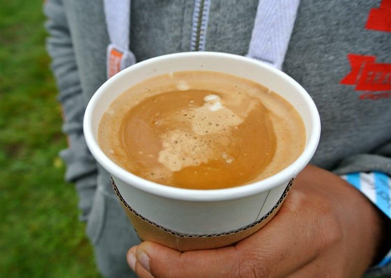 Gather food festival Stowe coffee van coffee