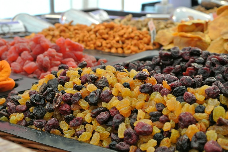 Gather food festival Stowe dried fruit