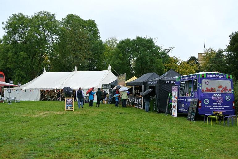 Gather food festival Stowe