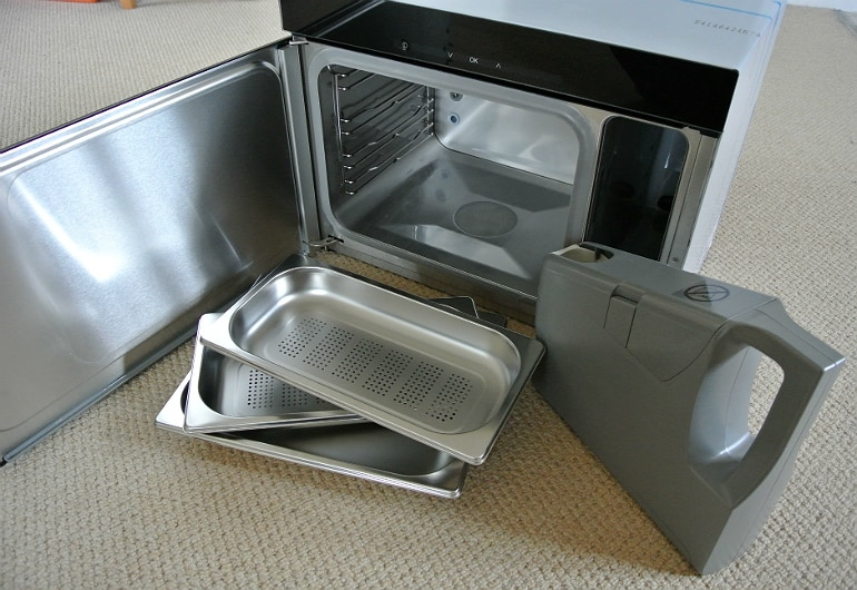 Miele steam oven trays