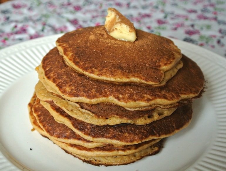 Pancakes with pumpkin recipe