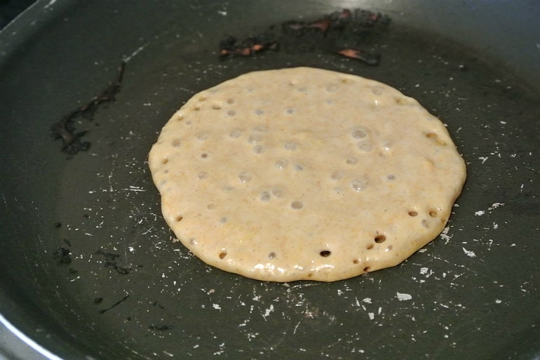 Pumpkin pancakes Halloween recipe American style