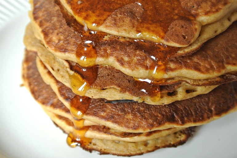 Pumpkin spiced pancake recipe Halloween
