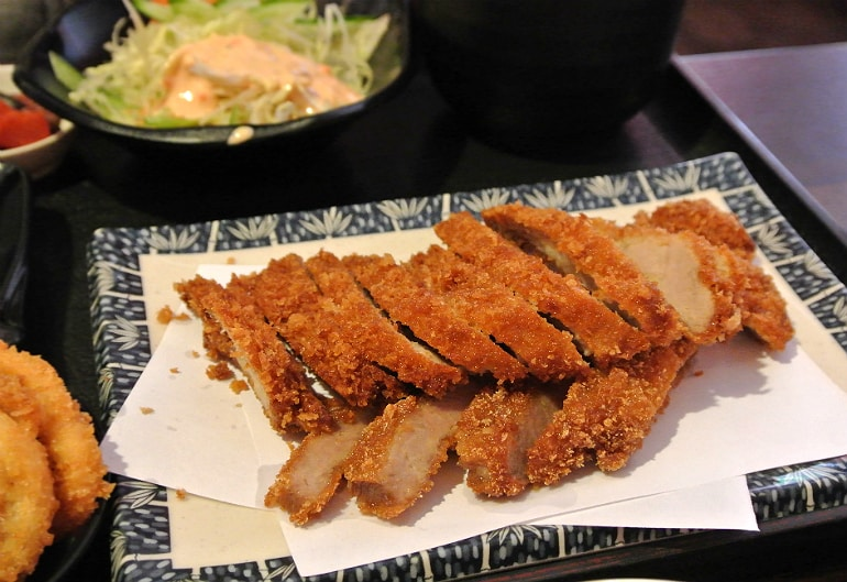 Sakura Southsea Portsmouth Japanese restaurant fried pork
