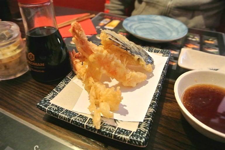 Sakura Southsea Portsmouth Japanese restaurant tempura