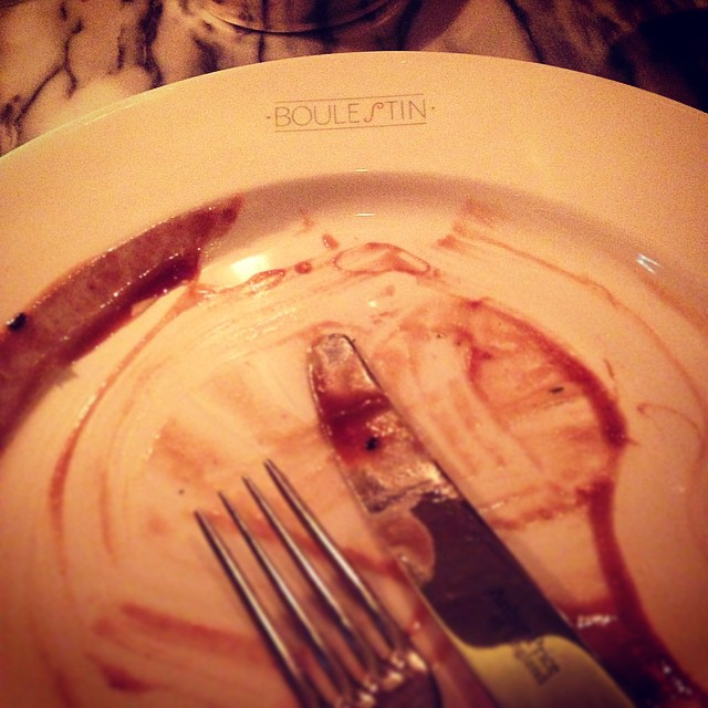 Delish scallop starter at @BoulestinLondon ? bring on the main! #London