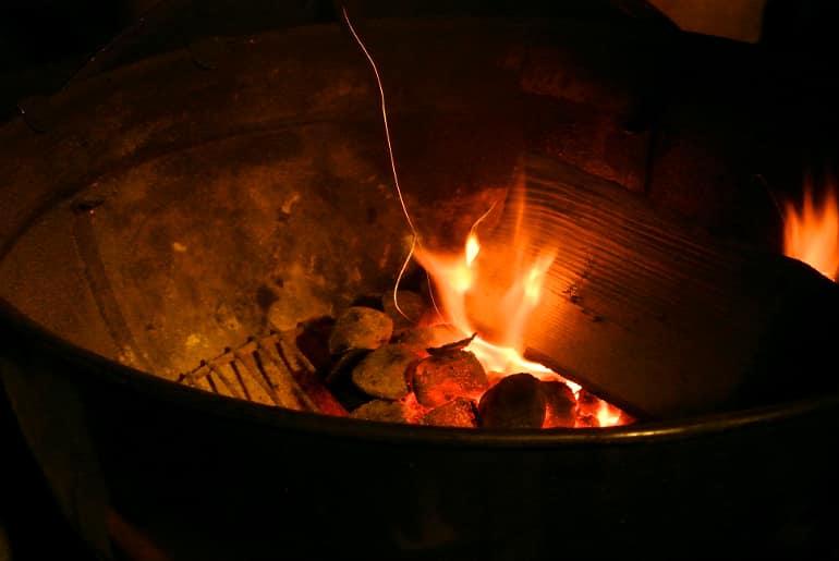 Bonfire night yum dim sum food blog BBQ