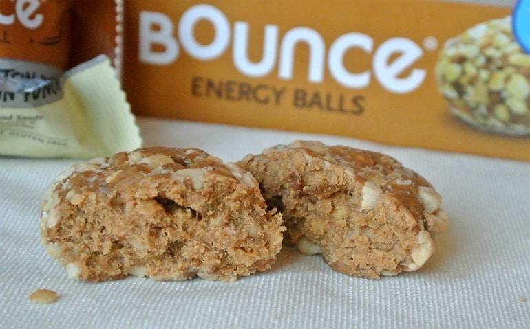 Bounce Energy Balls review apple cinnamon inside