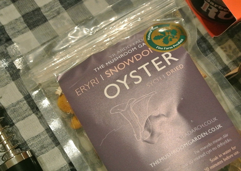 Discovery box review oyster mushrooms