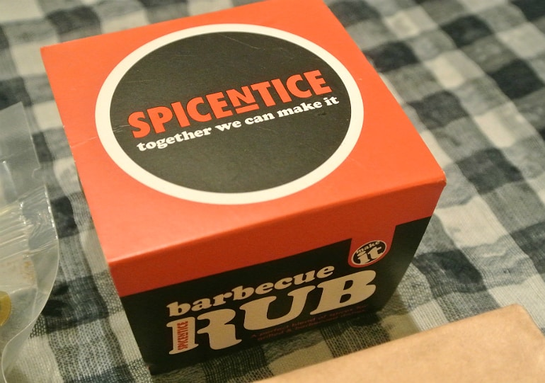Discovery box review spice rub