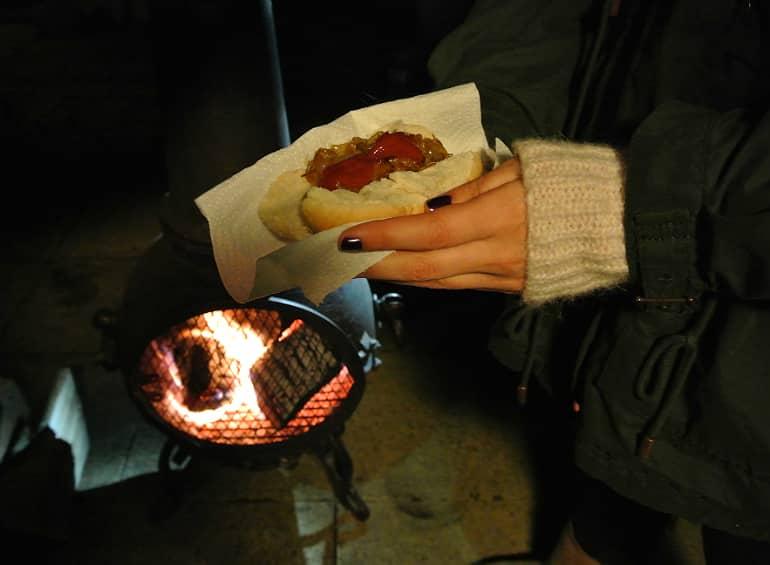 Hotdogs bonfire night yum dim sum food blog