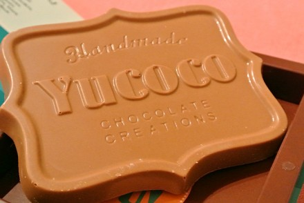 Yucoco personalised chocolate bar review cover