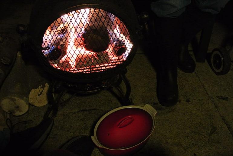 Yum dim sum food blog bonfire night onions
