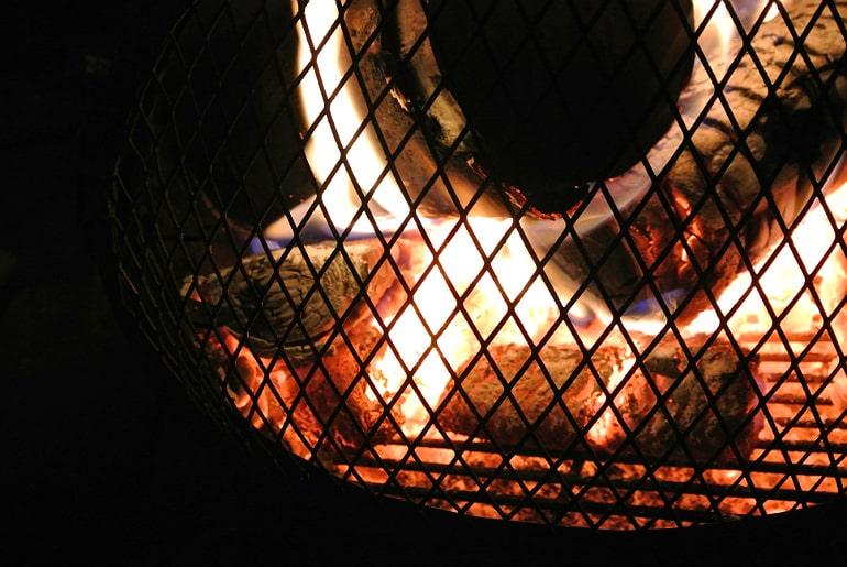 Yum dim sum food blog bonfire