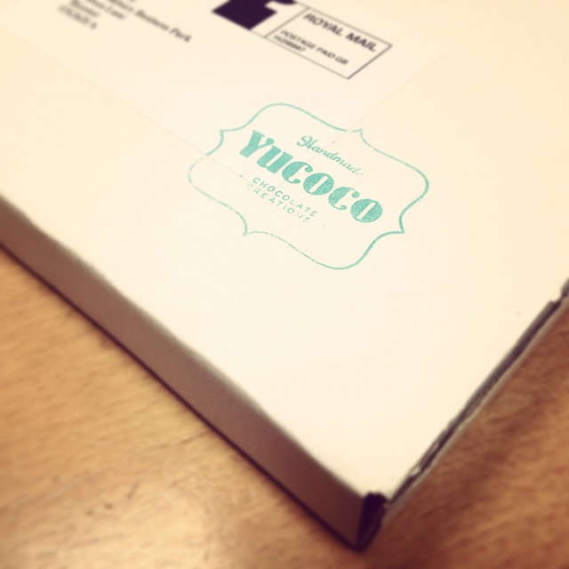 Day 64: Exciting chocolatey post received today and nailed a work exam ?? not a bad hump day at all! #100happydays #Yucoco