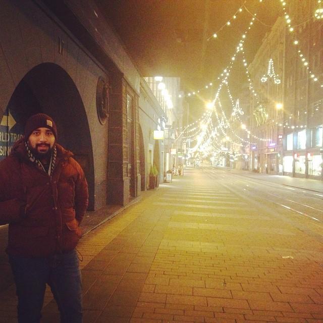 #Helsinki is so festive ???