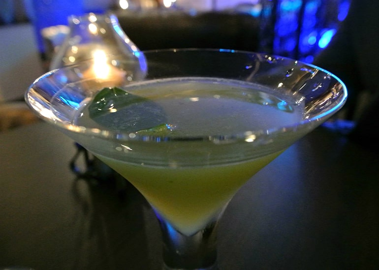 Crib De Rib cocktail bar Kensington London review basil
