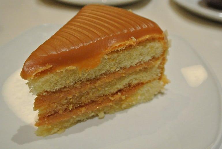 Helsinki Fazer cake caramel