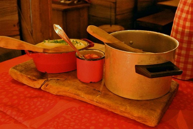 Helsinki Savotta restaurant casserole
