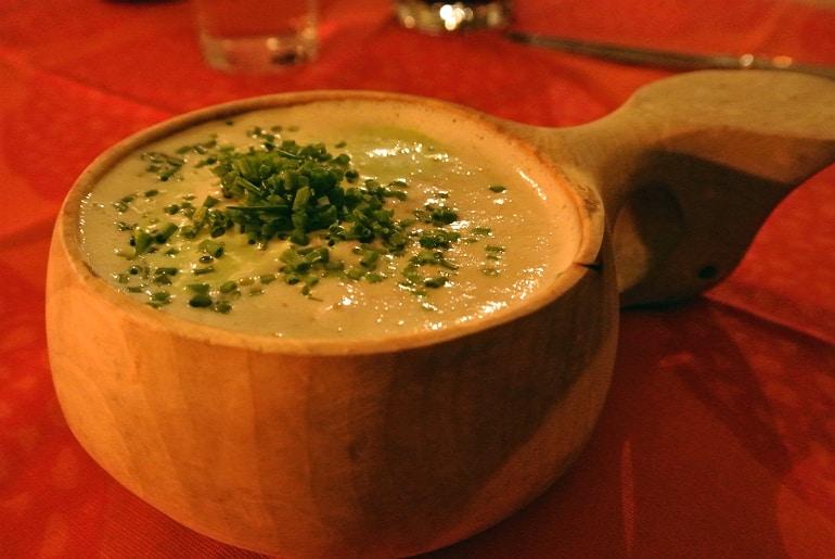 Helsinki Savotta restaurant reindeer soup