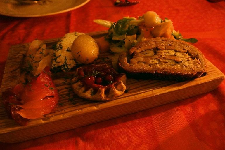 Helsinki Savotta restaurant starter