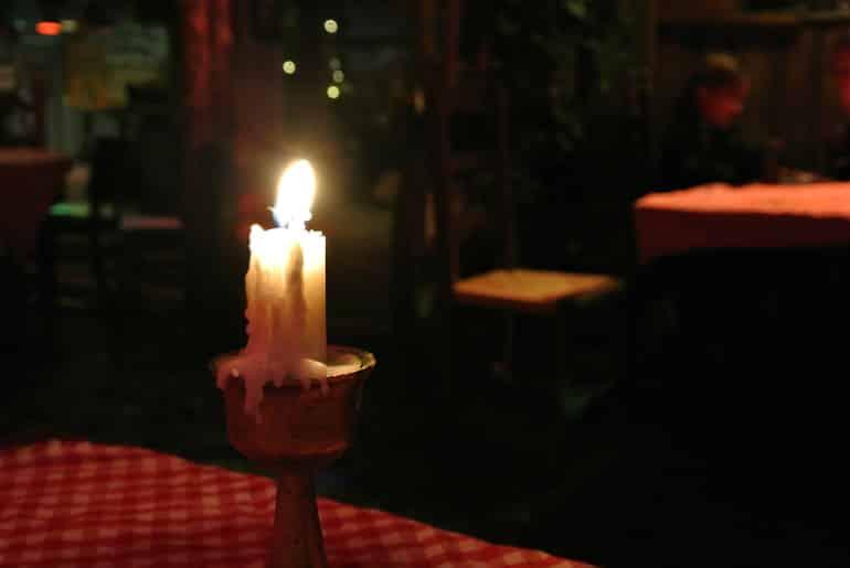 Helsinki Zetor bar candle